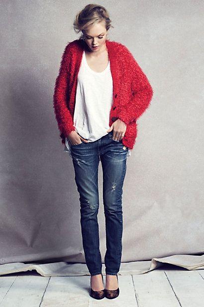 AG Nikki Relaxed Skinny Jeans #anthropologie
