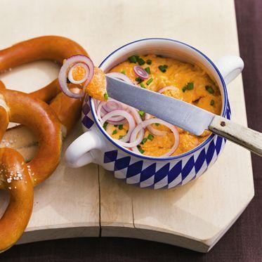 Bayerischer Obazda Rezept   Küchengötter