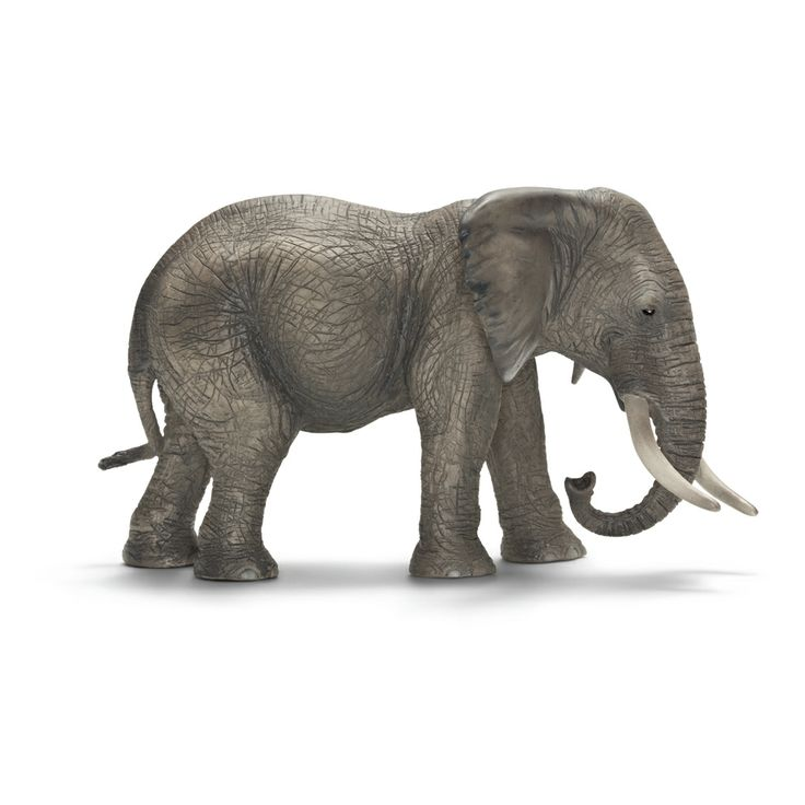 ___African Elephant, female____ Schleich Figurine available at Fantaztic Learning Store Canada - shop.fantazticcatalog.com