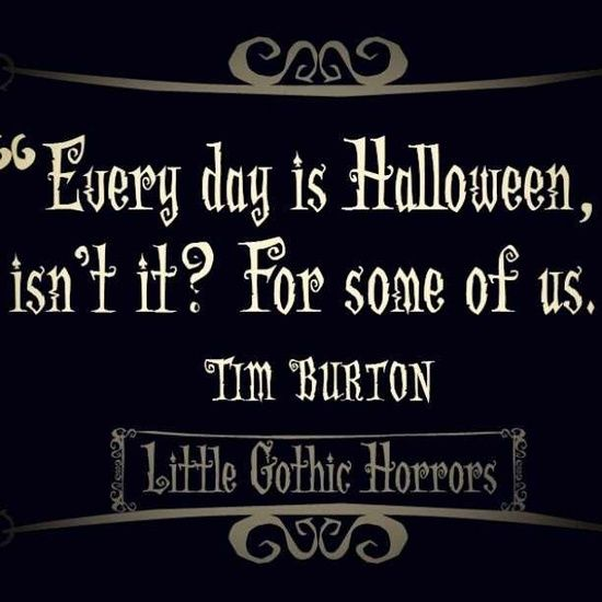 I love Tim Burton-Alice In Wonderland, The Nightmare Before Christmas, and…