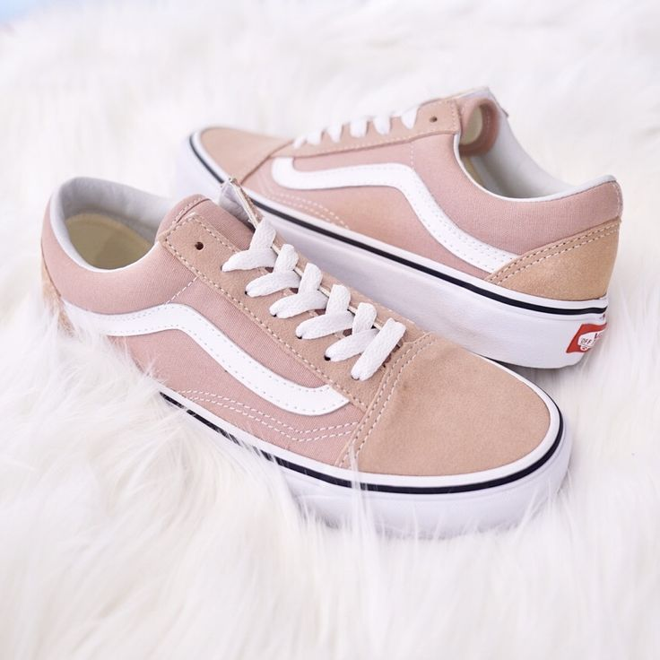 Vans Old Skool Mahogany Rose & True White Skate Shoes – Sneakers♡