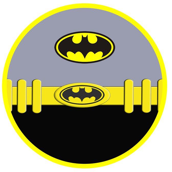Batman: Invitaciones, Etiquetas, Imprimibles y Cajas para Imprimir Gratis.
