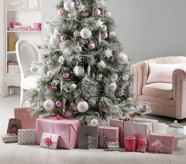 Новогодняя елка в стиле Прованс | Дизайн в стиле Прованс - французский стиль кантри в вашем доме
