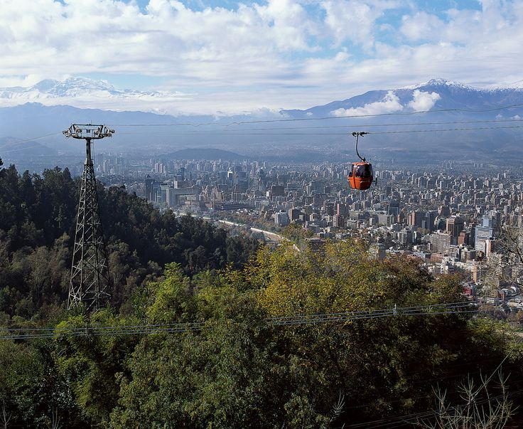 Santiago, Chile-I LOVE this country...
