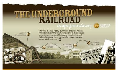 Great ideas for teaching the Civil War and the Underground railroad.