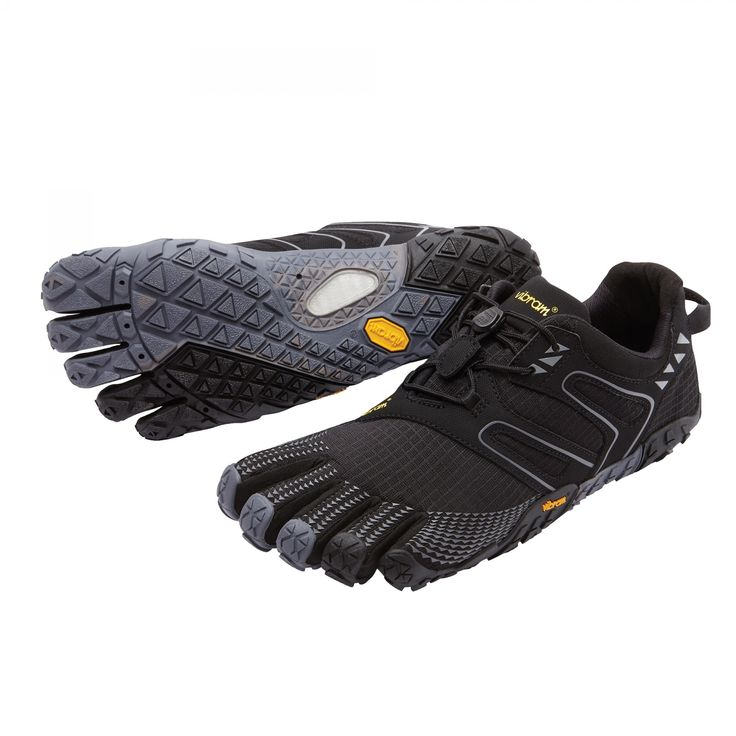 Vibram Five Fingers Mens V-Trail Black/Grey
