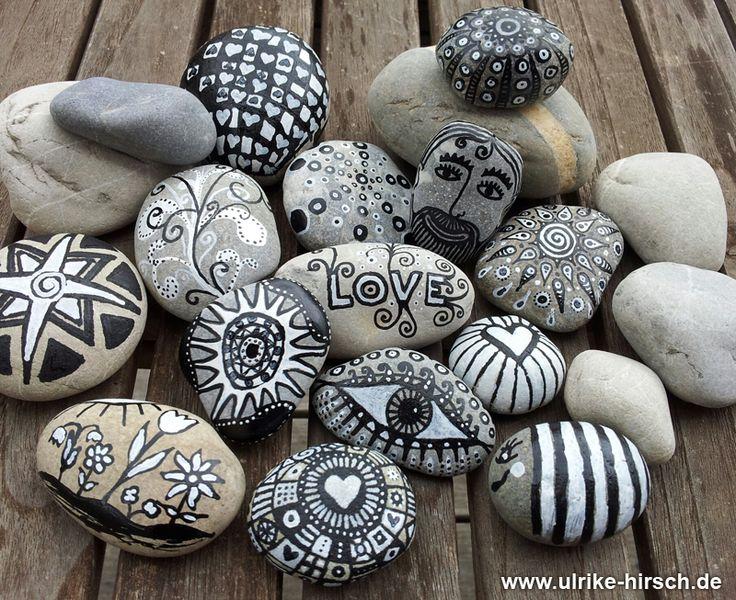 love pens stones ideas interesantes con piedras. Black Bedroom Furniture Sets. Home Design Ideas