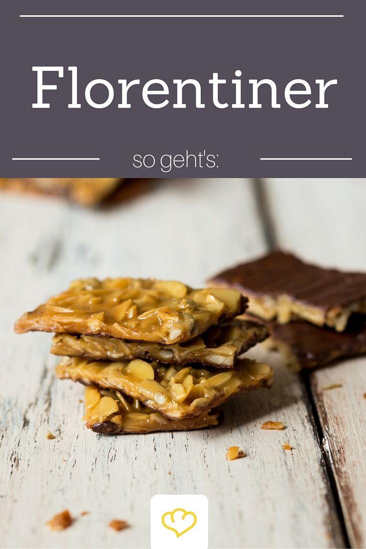 Die gehören auf jeden Plätzchen-Teller: Knusprige Florentiner.