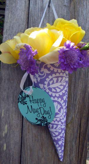 Make a simple May Day basket to celebrate spring - San Jose Gardening   Examiner.com