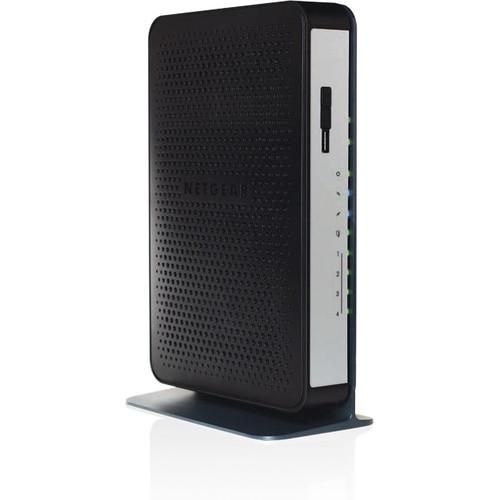 NETGEAR - N450 WiFi Cable Modem Router - Larger Front