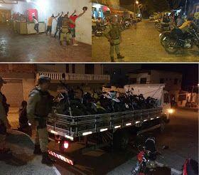 """NONATO NOTÍCIAS: POLICIAL: 54ª CIPM REALIZA OPERAÇÃO """"VISÃO NOTURNA..."""