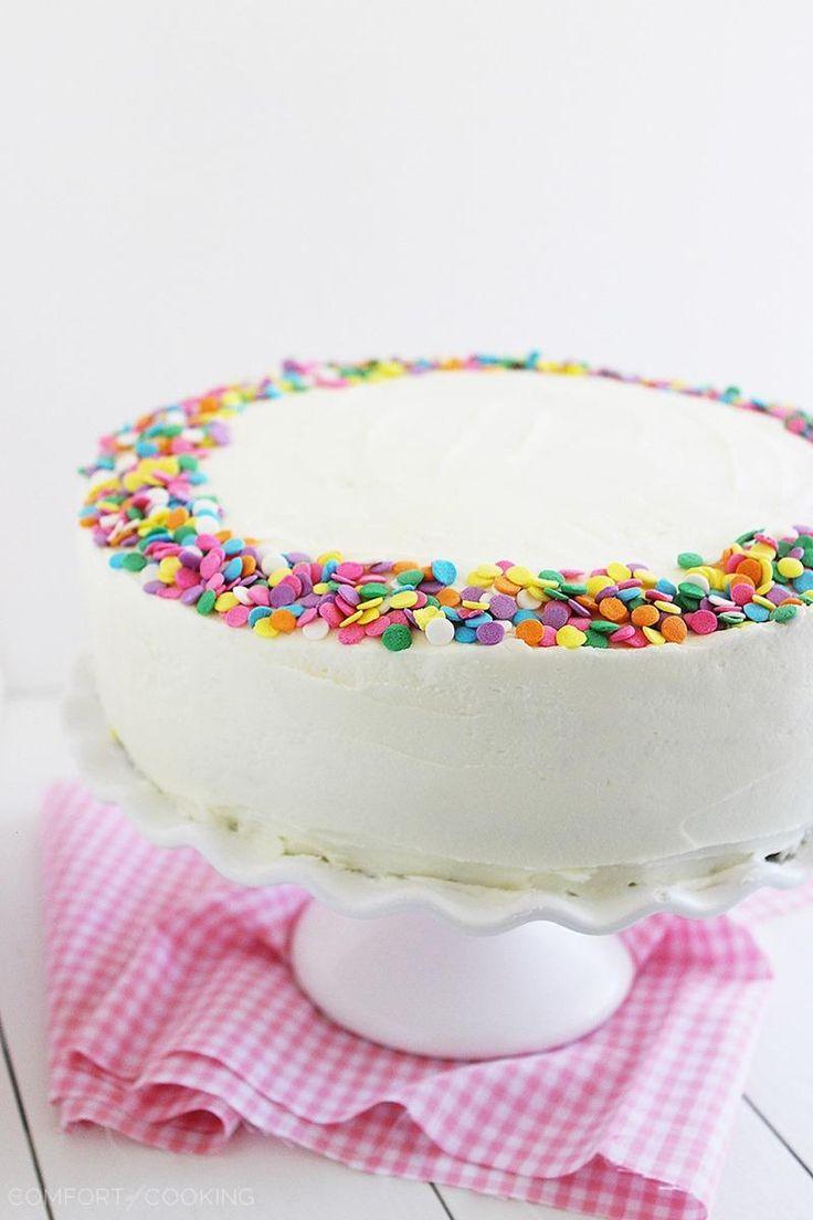 Cake Decorating Vanilla Icing : Best 25+ Yellow birthday cakes ideas on Pinterest ...
