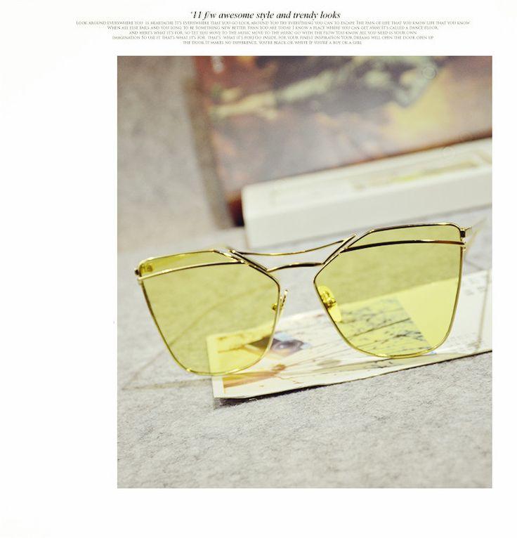 不規則型偏光サングラス選び方2017韓国韓流おしゃれオーバーサングラスファッションブロガー眼鏡ブランド透明サングラスメンズレディース