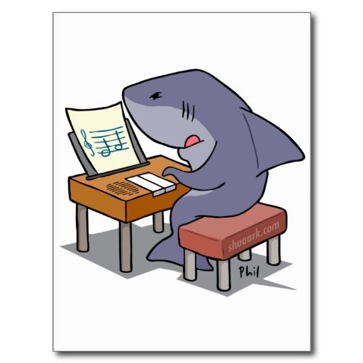 Sometimes all you need is two notes. Shark Week 2014