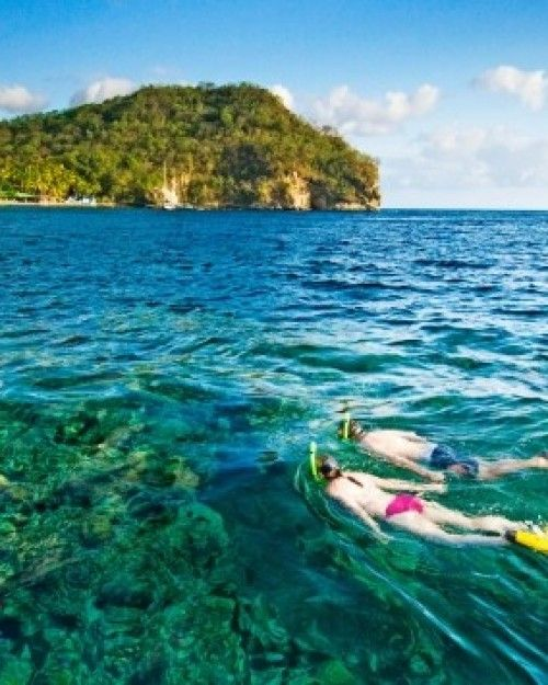 Some of the Caribbean's best snorkeling and scuba waters are right off the resort's beaches. #Jetsetter  http://www.jetsetter.com/hotels/st-lucia/st-lucia/163/jade-mountain?nm=serplist=9=image
