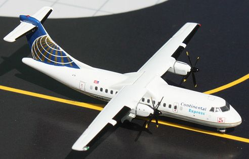 continental express meat ball | GeminiJets 1:400 Continental Airlines ATR 42