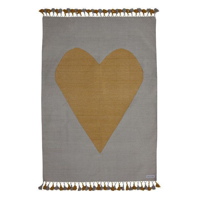 My Golden Heart Rug #vloerkleed | La De Dah Kids