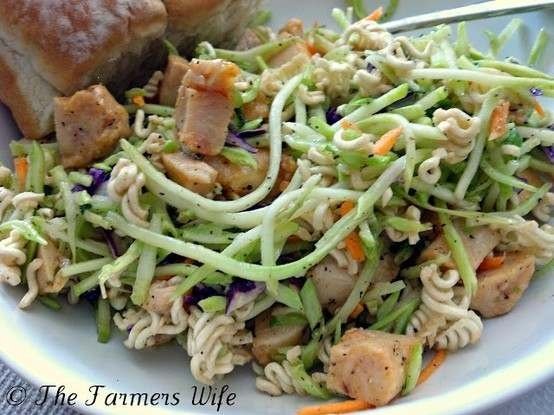 ramen food and wine recipe Pinterest noodle noodle salad   recipes   ramen chicken ramen