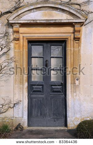 English Country Manor Front Door Front Door Of A Georgian Era English Manor