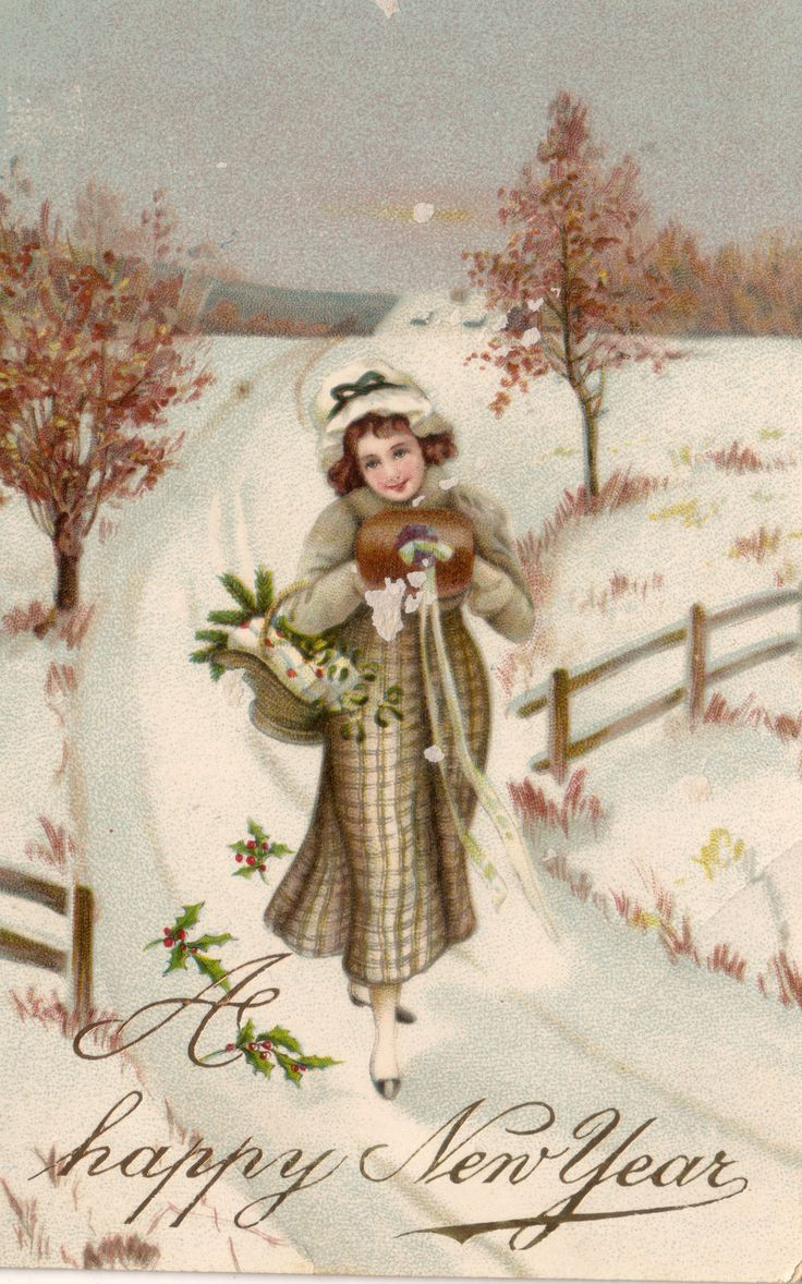 926 best Happy New Year! images on Pinterest | Vintage images, Happy ...