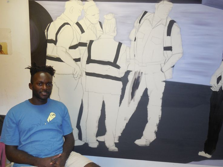 Tony Smith Artist | Paul Anthony Smith at his studio in the Crossroads Arts District