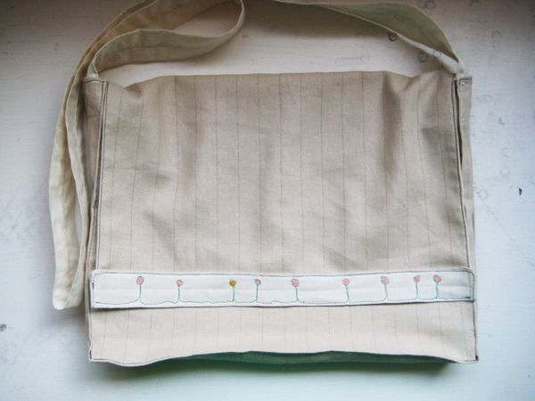 Square Bag Tutorial I used to create Messenger bags
