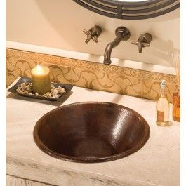 Cazo In Antique   The Cazo Copper Sink Is Made From Recycled Copper As Are  All