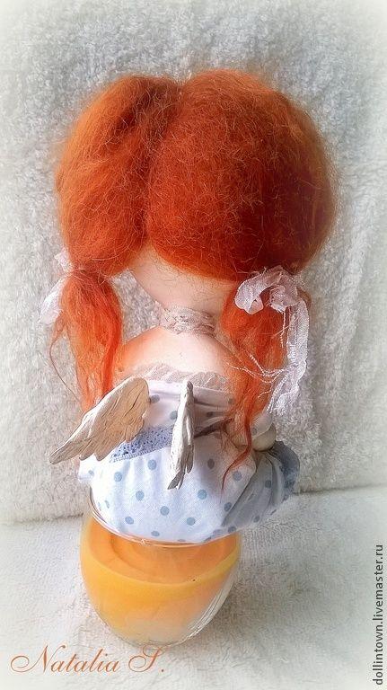 Купить Кукла девочка (Рыжая соня) - рыжий, девочка, рыжая девочка, рыжая кукла
