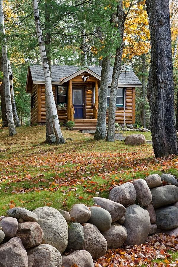 44 Best Small Log Cabins Images On Pinterest