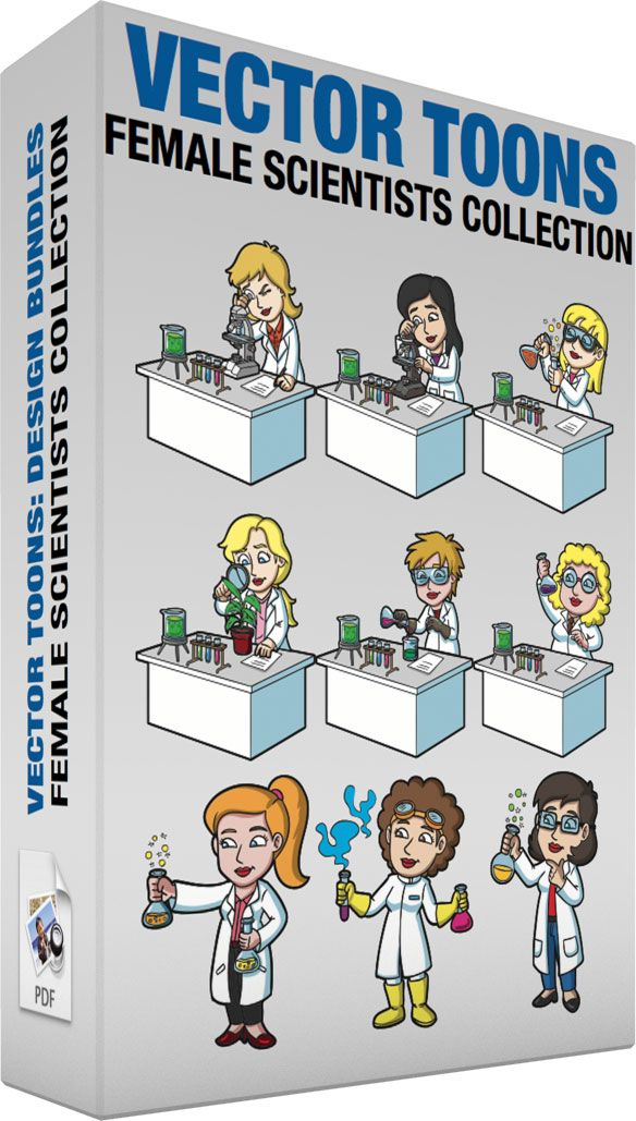 Female Scientists Collection :  Bundle of images includes the following:  A…