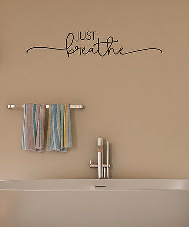 Best Bathroom Wall Decals Ideas On Pinterest Vinyl Lettering - Custom vinyl wall decals sayings for bathroom