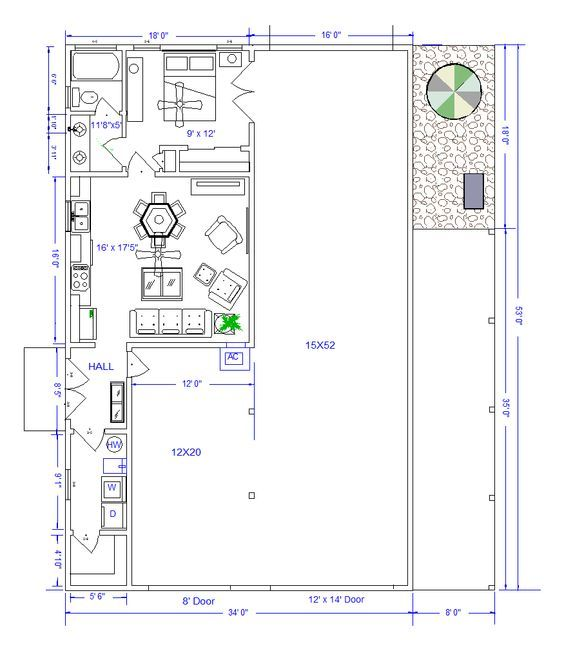Rv Garage With Living Quarters: 1000+ Ideas About Shop With Living Quarters On Pinterest