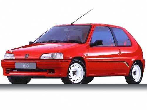 Peugeot 106 Picture | Peugeot 106 1993 Rallye Photos