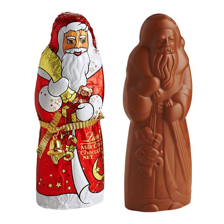 Sadece Yılbaşı hediyesi değildir Noel Baba Lindt Çikolata, aynı zamanda harika çizgileri ile lezzetli bir çikolata deneyimidir.
