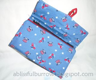 Easy-to-make Fabric Wallet | A Blissful Burrow