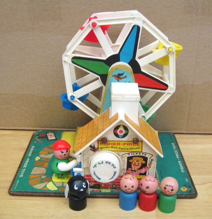 Fisher-Price Music Box Ferris Wheel  Man, I wish I still had this.