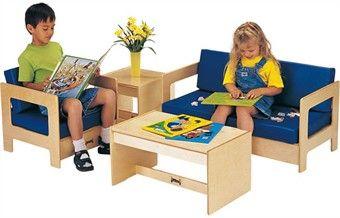 Jonti-Craft Kids Waiting Room Furniture Set