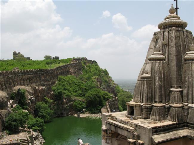Benteng Chittorgarh, Hindistan. India