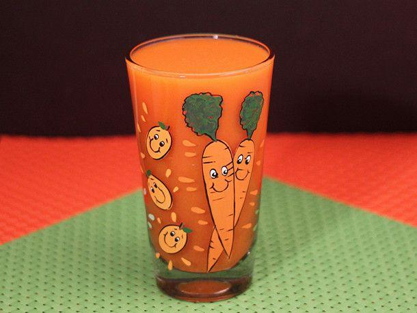 Simple Orange-Carrot Juice #recipe