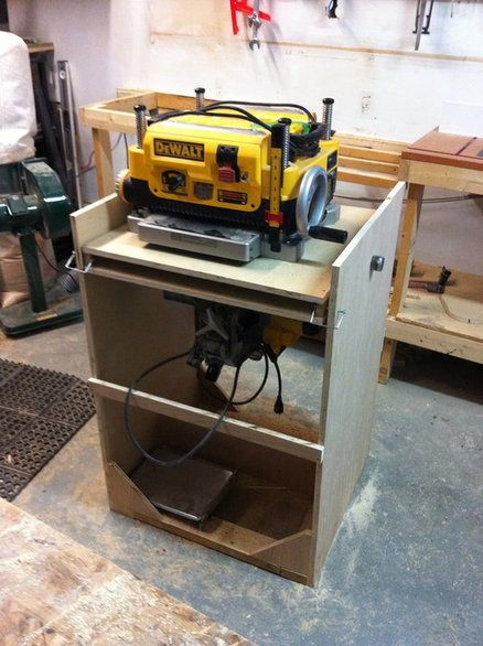Dewalt Planer Stand Plans Woodworking Projects Amp Plans