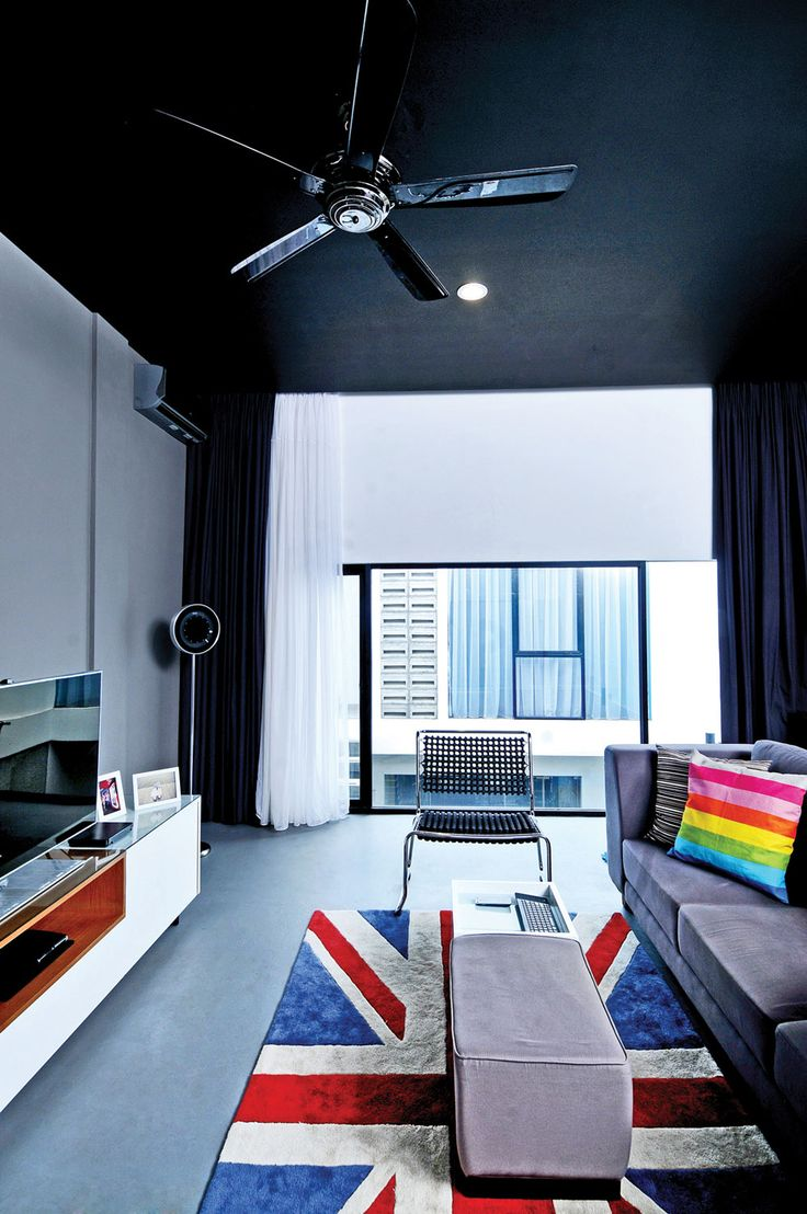 Urban Pop Living Room Design.