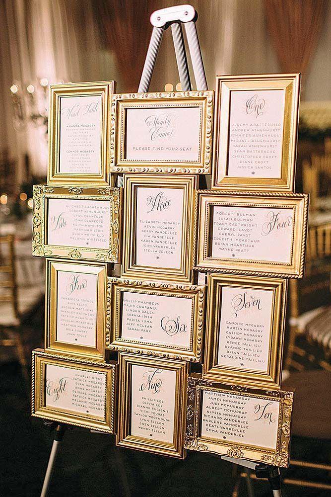 30 décorations de mariage en or les plus luxueuses