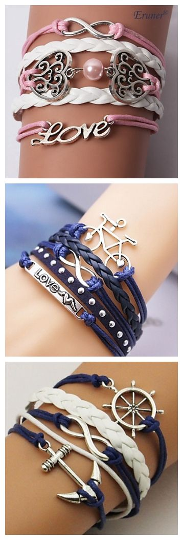 Love these bracelets? The pink one looks cute right?