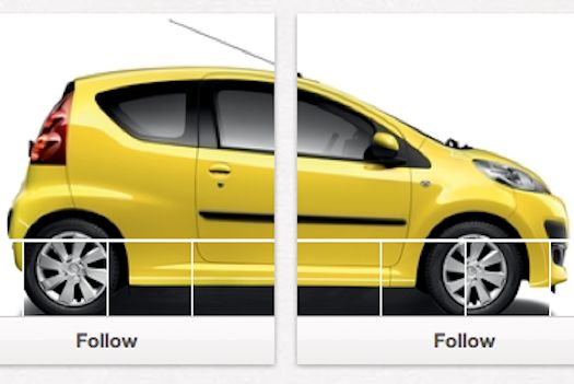 Car manufacturer creates an engaging and clever social media campaign where users must find missing...