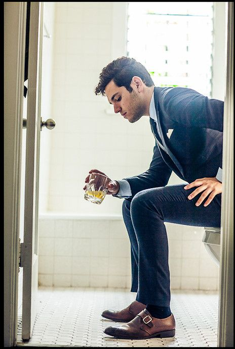 suit, shoes, whiskey. yes.