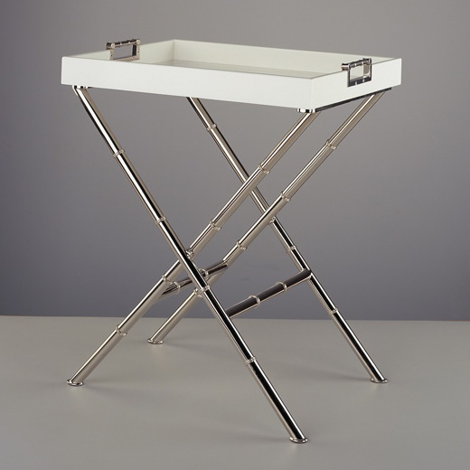 Jonathan Adler Meurice Butler Tray Table In Cocktail, Side And Console  Tables