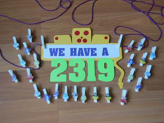 Monster's Inc. 2319 Banner/Sign Monsters Inc