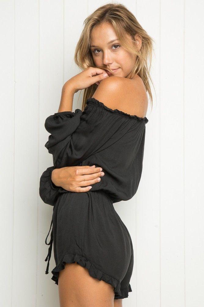 Brandy ♥ Melville | Gabriella Romper - Rompers - Clothing