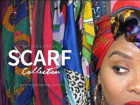 NATURAL HAIR | My Scarf Collection