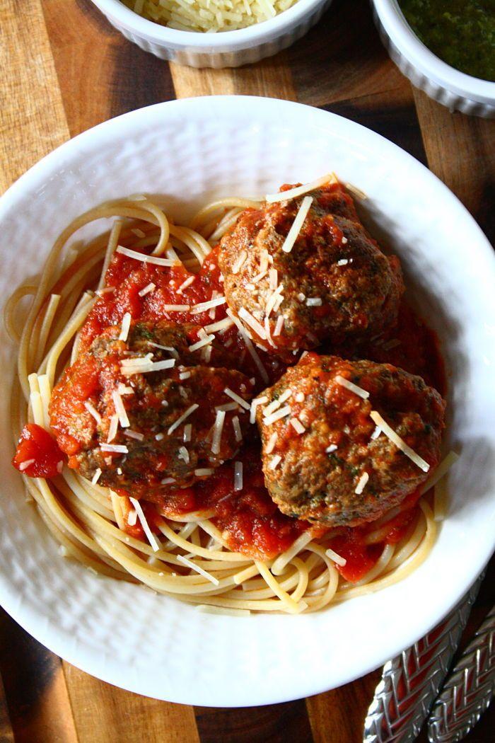 Pesto Meatballs 2